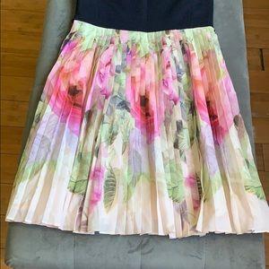 Ted Baker London Dresses - Ted Baker pleated skirt dress